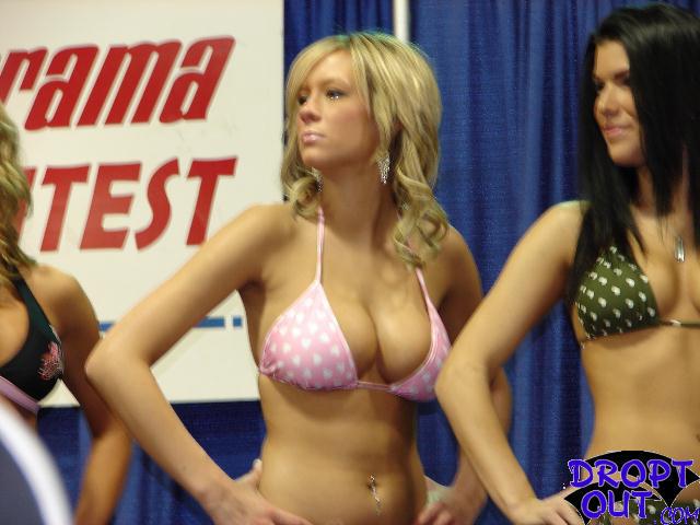 Skinny big tits grannies